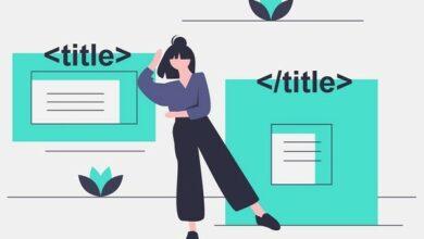 تگ title در HTML